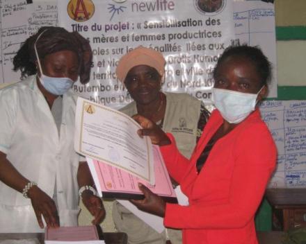 Samen tegen corona: Sensibiliseren in Kivu